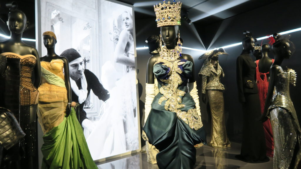 salle des créations de John Galliano pour Dior