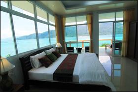 Chambre avec une vue à 360°C à l'hôtel Mountain View