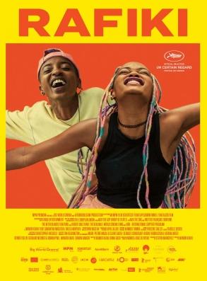Affiche du film Rafiki de Wanuri Kahiu, présenté au festival de Cannes