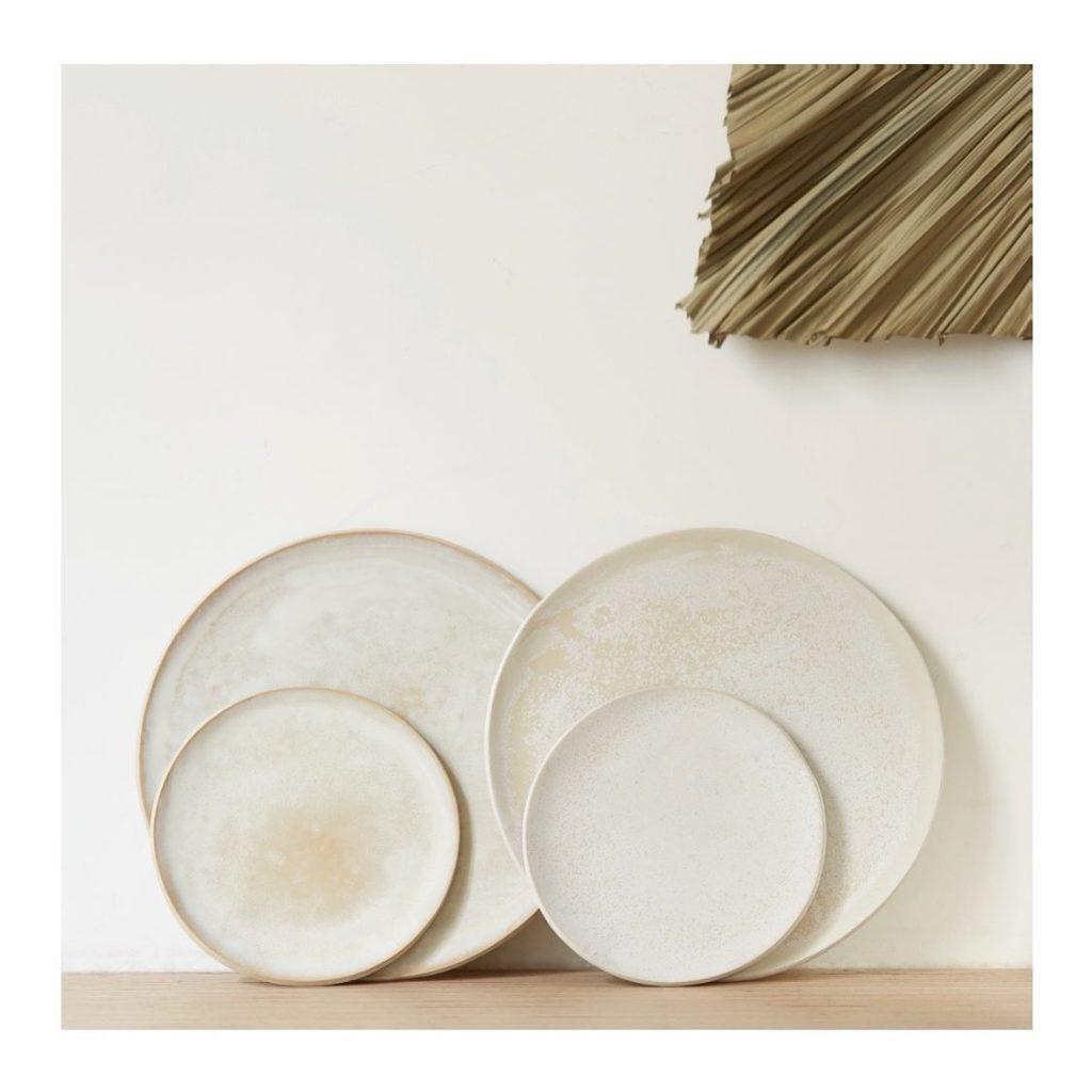 claycraft, assiettes et objets en céramique