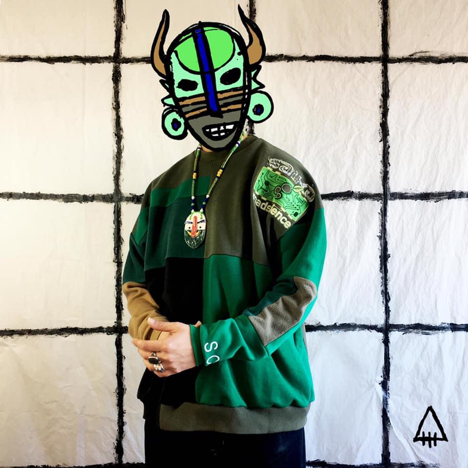 El guerrero : sweatshirts upcycled