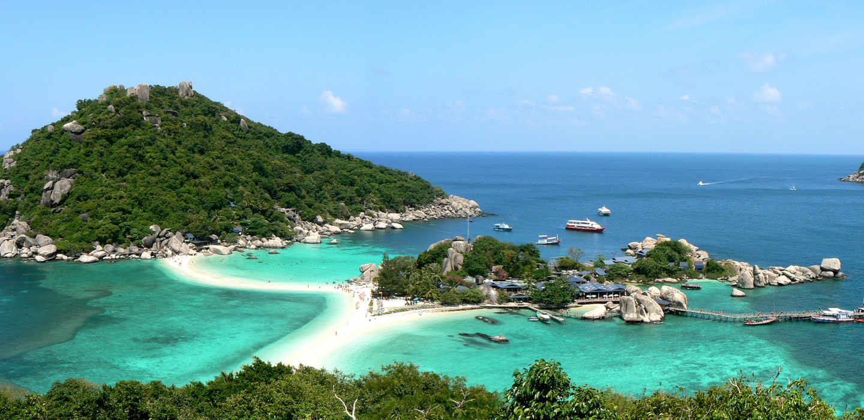 photo de Koh Nang Yuan island, au large de koh tao