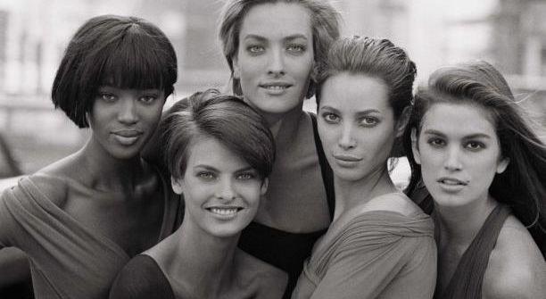 Top models des années 90 photographiées par Peter Lindbergh